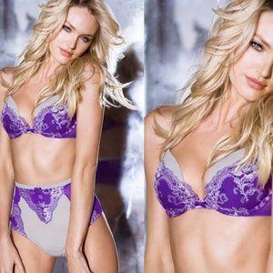 VICTORIA'S SECRET Very Sexy Plunge Purple Lace Bra